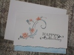 Tatted Birthday Card