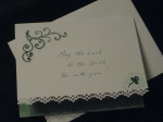 Tatted St. Patrick's DayCard